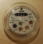 Schlumberger Flostar  DN32 vízmérő számlálómű