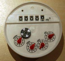 MBRF DN50 vízmérő számlálómű