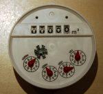 MBRF DN40 vízmérő számlálómű