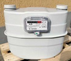 14___ ITRON membrános gázmérő G10, L=280 mm, MID