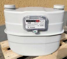 15___ ITRON membrános gázmérő G16, L=280 mm, MID