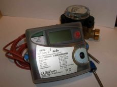 GANZ CF Echo II. NÁ15, 1,5 m3/h ultrahangos hőmennyiségmérő
