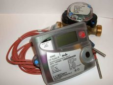 GANZ CF Echo II. NÁ20, 2,5 m3/h ultrahangos hőmennyiségmérő