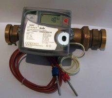 GANZ CF Echo II. NÁ40, 10 m3/h ultrahangos hőmennyiségmérő