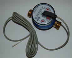13___GSD tip. lakásvízmérő, NÁ20, Qn 4 m3/h, hidegvizes, impulzusadós
