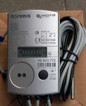 31_____Qundis Qheat 5.5 US tip, NÁ15 ultrahangos hőmennyiségmérő, fűtés-hűtés mérésére, M-Bus, MID