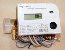 3 Joymeter ultrahangos kompakt hőmennyiségmérő, NÁ25, Qp=3,5 m3/h, L=160 mm, MID hitelesítéssel
