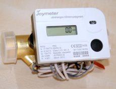 4 Joymeter ultrahangos kompakt hőmennyiségmérő, NÁ32, Qp=6 m3/h, L=180 mm, MID hitelesítéssel