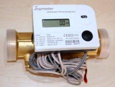 5 Joymeter ultrahangos kompakt hőmennyiségmérő, NÁ40, Qp=10 m3/h, L=200 mm, MID hitelesítéssel