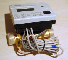 2 Joymeter ultrahangos kompakt hőmennyiségmérő, NÁ20, Qp=2,5 m3/h, L=130 mm, MID hitelesítéssel
