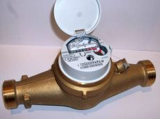 2___ MSD Cyble vízmérő, NÁ30, L=260 mm, hidegvizes
