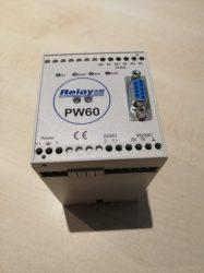 PW 60 tip. M-Bus illesztő egység, 60 férőhelyes, tápegységgel együtt