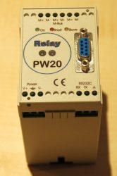 PW 20 tip. M-Bus illesztő egység, 20 férőhelyes, tápegységgel együtt