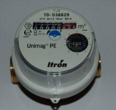 Unimag PE lakásvízmérő, NÁ15, Qn=1,5 m3/h L=80 mm hidegvizes