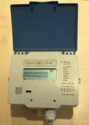 Qalcosonic Flow4 ultrahangos vízmérő, NÁ15, 2,5 m3/h, L=110mm, T30/90, IP68, MID