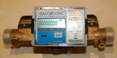Qalcosonic Flow4 ultrahangos vízmérő, NÁ25, 6,3 vagy 10  m3/h, L=260mm, T30/90, IP65, MID