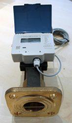 Qalcosonic Flow4 ultrahangos vízmérő, NÁ50, 25 m3/h, L=270mm, T30/90, IP68, MID