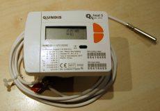 11_____Qundis QH5 tip, NÁ15 mechanikus hőmennyiségmérő, fűtés-hűtés mérésére, MID