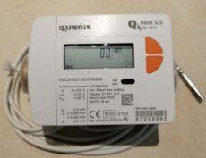 22_____Qundis QH5 tip, NÁ20 mechanikus hőmennyiségmérő, fűtés mérésére, MID