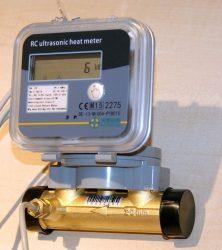 2___RC tip. ultrahangos kompakt hőmennyiségmérő fűtés-hűtés, kombinált üzemmódra NÁ20, Qp=2,5 m3/h, L=130 mm, MID hitelesítéssel