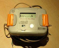 6___RC82 tip. ultrahangos kompakt hőmennyiségmérő fűtés-hűtés, kombinált üzemmódra NÁ25, Qp=3,5 m3/h, L=160 mm, MID hitelesítéssel