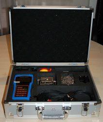 RONAflow RFL-2000H csőre szerelhető ultrahangos áramlásmérő készlet, kézi kivitel