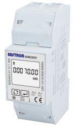 6___ Árammérő 1 fázisú, elektronikus, LCD kijelző, DIN sínre szerelhető, MID hitelesítéssel