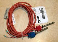 Hőmérséklet érzékelő pár, THF50, 1,7m, Pt100