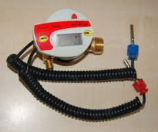 Felújított  Integral-V Maxx tip. kompakt hőmennyiségmérő fűtésre, NÁ15, Qn=0,6 vagy 1,5 m3/h