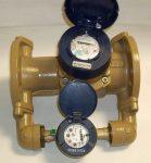 Isoflo NÁ65x20, Qn 25 m3/h, L=300 mm  kombinált vízmérő